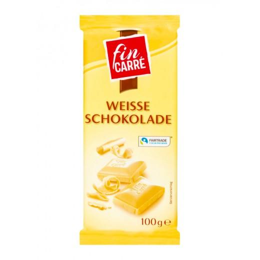 "White chocolate ""Fin Carre"", 100 g"