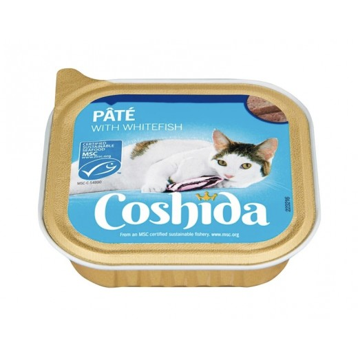 "Premium cat pate with whitefish ""Coshida"", 100 g"