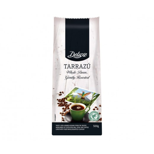 "Whole coffee bean ""Deluxe"" Tarrazu, 500 g"