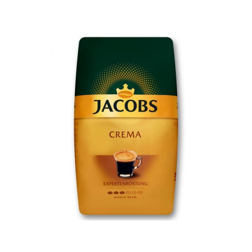 "Whole coffee beans Crema ""Jacobs"" Expert Roast, 1 kg"