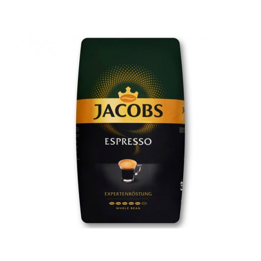 "Whole coffee beans Espresso ""Jacobs"" Expert Roast, 1 kg"