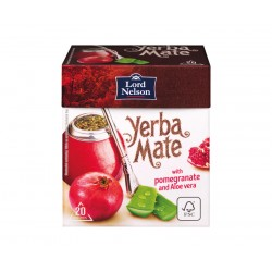 """Yerba Mate tea with pomegranate & aloe vera """"Lord Nelson"""", 20 pcs"""