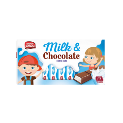 "Milk chocolate bars ""Mister Choc"", 8 pcs"