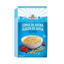 """Instant oat flakes """"Crownfield"""", 500 g"""