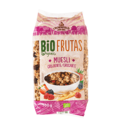"BIO Organic crunchy muesli with fruits ""Crownfield"", 500 g"