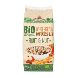 "BIO Organic muesli with fruits & nuts ""Crownfield"", 500 g"