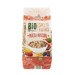 "BIO Organic muesli with fruits ""Crownfield"", 500 g"