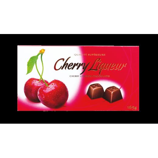 Cherry liqueur chocolate pralines, 165 g