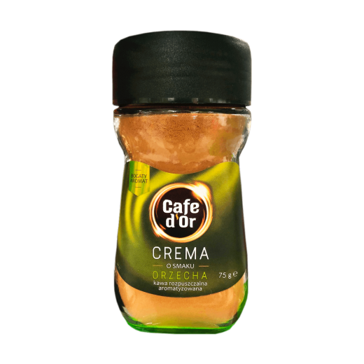 """Nut flavoured instant coffee crema """"Cafe d'Or"""", 75 g"""