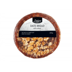 """Date bread with walnuts """"Deluxe"""", 200 g"""