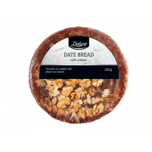 "Date bread with walnuts ""Deluxe"", 200 g"