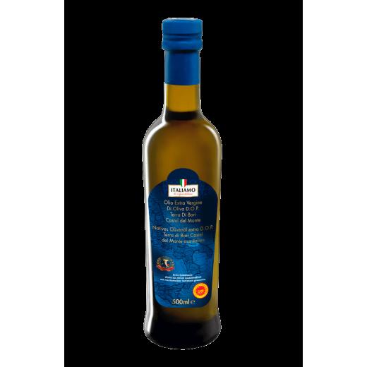 """Extra virgin olive oil Terra di Bari Castel del Monte """"Italiamo"""", 500 ml"""