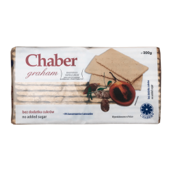 "Graham crispy bread cracker ""Chaber"", 200 g"