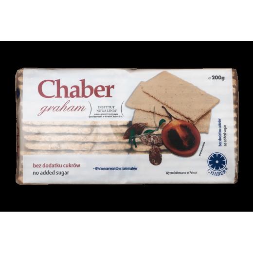 """Graham crispy bread cracker """"Chaber"""", 200 g"""