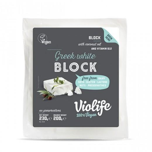 """Greek white vegan cheese block """"Violife"""", 230 g"""