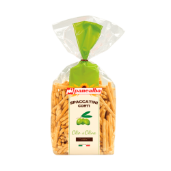 "Grissini breadsticks with olive oil Spaccatini Corti Olia di Oliva ""Panealba"", 250 g"