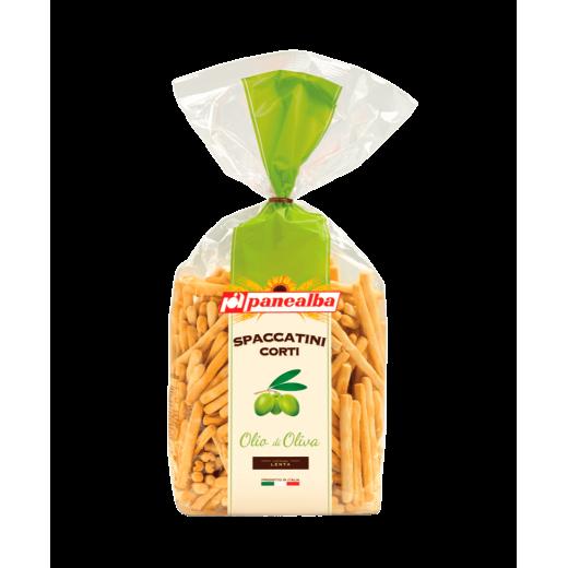 """Grissini breadsticks with olive oil Spaccatini Corti Olia di Oliva """"Panealba"""", 250 g"""