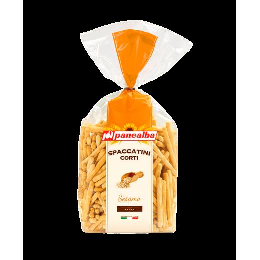 "Grissini breadsticks with sesame seeds Spaccatini Corti al Sesamo ""Panealba"", 250 g"