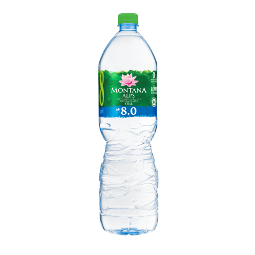 "Naturally alkaline mineral water ""Montana Alps"" STILL, 1.5L"