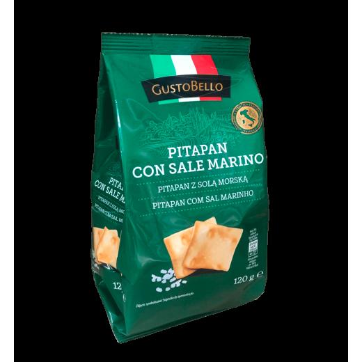 "Pita bread with sea salt ""Gustobello"", 120 g"