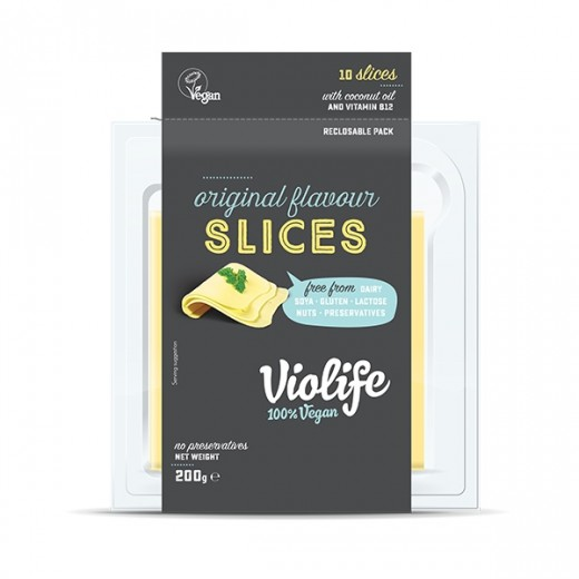 "Original sliced vegan cheese ""Violife"", 200 g"