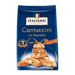 "Sweet Italian biscuits with almonds ""Italiamo"" Cantuccini, 300 g"