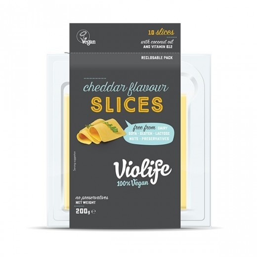 "Vegan cheddar slices ""Violife"", 200 g"