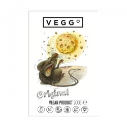 "Vegan original cheese product ""Veggo"", 200 g"