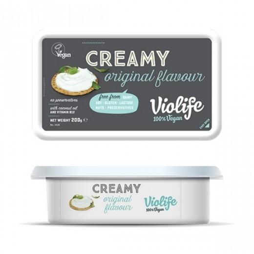 "Vegan original creamy cheese ""Violife"", 200 g"