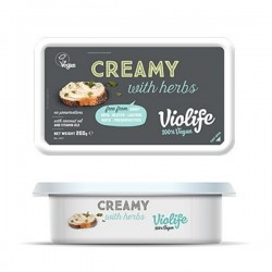 "Vegan creamy cheese with herbs ""Violife"", 200 g"