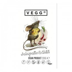 "Vegan Jalapeño & chili cheese product ""Veggo"", 200 g"