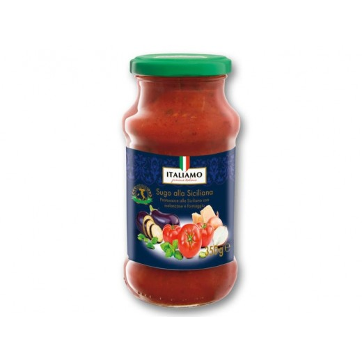 """Pasta sauce with eggplant & cheese, Sugo alla Siciliana """"Italiamo"""", 350 g"""