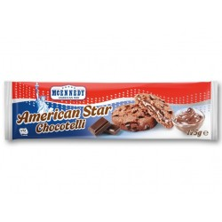 "American star shortbread biscuits with chocotelli ""Mcennedy"", 175 g"