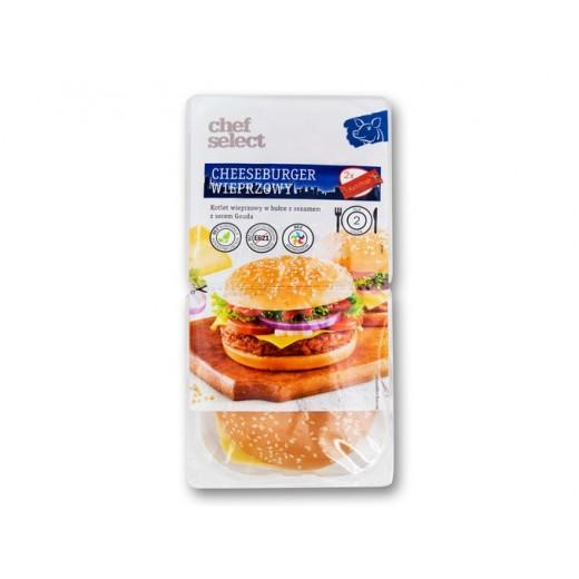 "Cheeseburger with pork ""Chef Select"", 320 g"