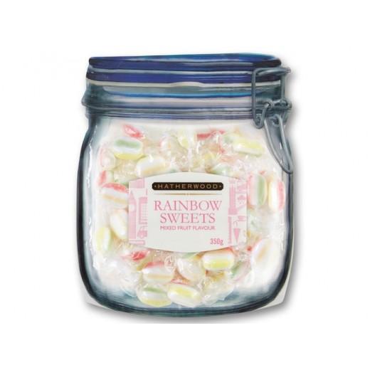 """British style mixed fruit rainbow sweets """"Hatherwood"""", 350 g"""