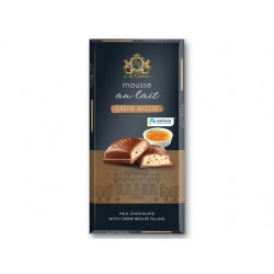"""Mousse milk chocolate with creme brulee filling """"J.D. Gross"""", 188 g"""