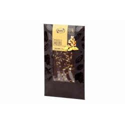 """Dark chocolate with ginger """"Ruta"""" 70% cocoa, 100 g"""