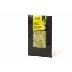 "White chocolate with lemon & green tea ""Ruta"", 100 g"
