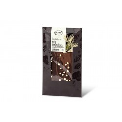 """Milk & Dark chocolate with rice crisps """"Ruta"""", 100 g"""