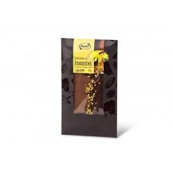"""Dark & Milk chocolate with pollen """"Ruta"""", 100 g"""