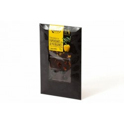 """Dark chocolate with paprika & olives """"Ruta"""" 70% cocoa, 100 g"""