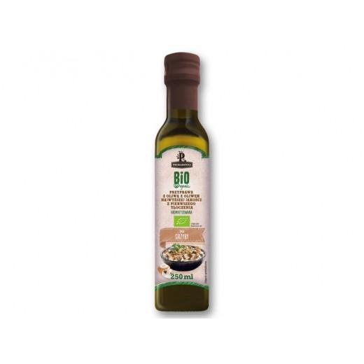 "BIO Organic first cold pressed olive oil with mushroom ""Primadonna"", 250 ml"