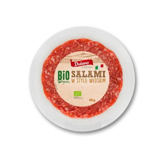 """BIO Organic salami in Italian style """"Dulano"""", 80 g"""