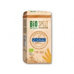 """BIO Organic spelt flour """"Belbake"""" type 1050, 1 kg"""
