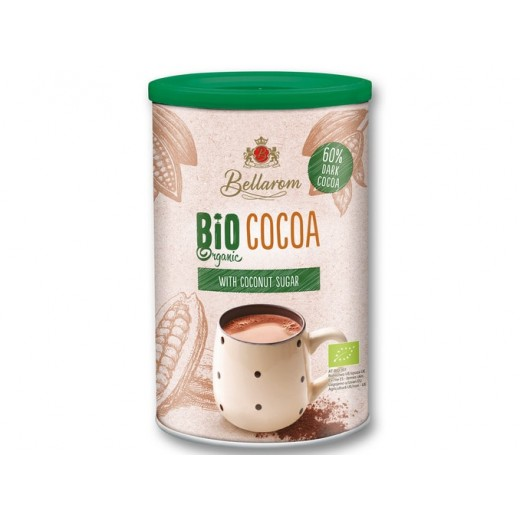 "BIO Organic 60% dark cocoa with coconut sugar ""Bellarom"" , 225 g"