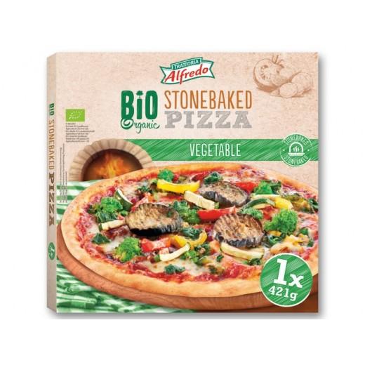 "BIO Organic vegetable stonebaked pizza ""Alfredo"", 421 g"