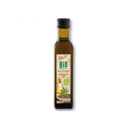 "BIO Organic hemp oil ""VitaD'or"", 250 ml"