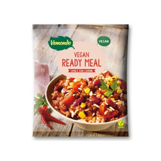 "Vegan ready meal ""Vemondo"" chili sin carne, 600 g"