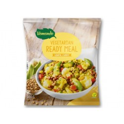 "Vegetarian ready meal ""Vemondo"" lentil curry, 600 g"