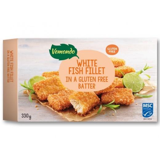 "Gluten free white fish fillet ""Vemondo"", 330 g"